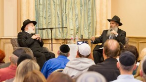 RABBI KRINSKY VISITS AGOURA HILLS, CALIFORNIA