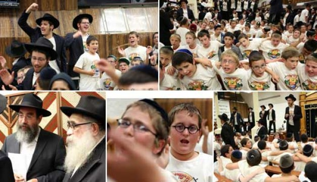 PHOTOS: Camp Gan Yisroel @ the Ohel and in 770 for Chof Av 