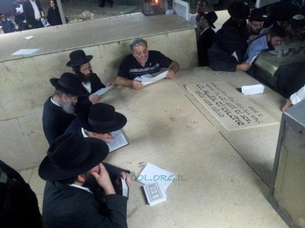Beis Dovid VeRafael Community Travels to the Tombs of the Tzaddikim