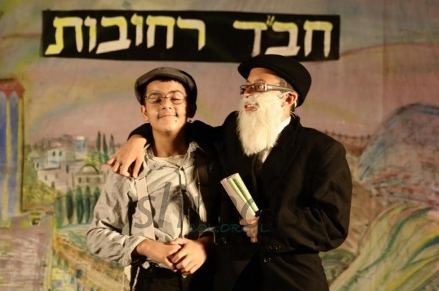 The Mitzva Train Visits Chabad Talmud Torah in Rechovot