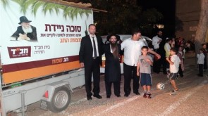 Chabad School in Hadera Stays Open Even During Chol Hamoed