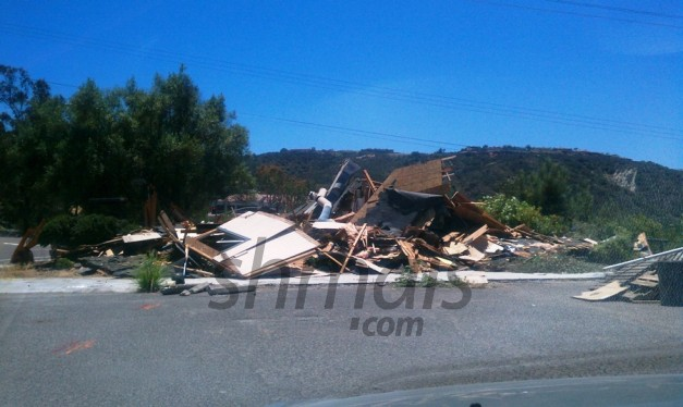 Chabad House Demolished