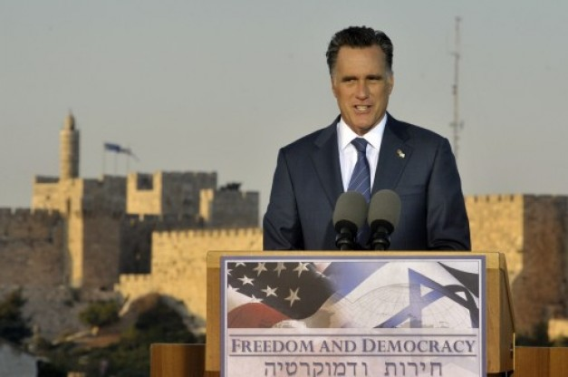 Romney says Jerusalem is Israel's capital, vows to move embassy