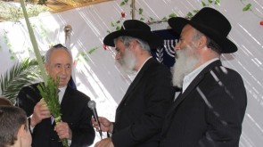 Chabad Gives the President a Set of Arba Minim