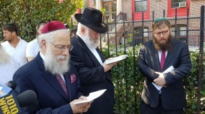 At 25th Anniversary of Crown Heights Riots, Tehillim Recited at Site of Fatal Stabbing