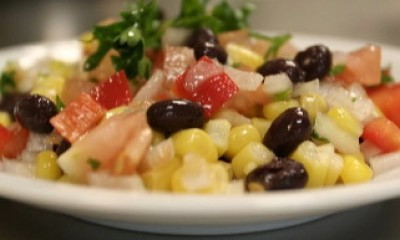 Black Bean Corn Salsa Salad
