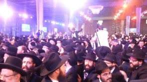 VIDEO: Dancing @ the Kinnus HaShluchim Banquet