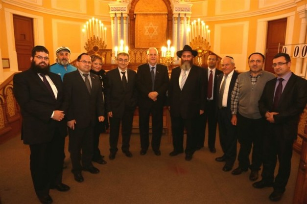 Israeli head of parliament visits Petersburg