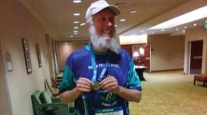 Rabbi 'Big Wheel' completes S.F. half-marathon