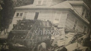 FLASHBACK PHOTOS: Garbage Truck Trashes Lubavitcher's Candy Store
