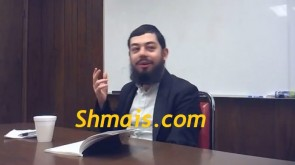 VIDEO OF THE DAY: Gedalya  Greenzayd's last Shiur, on Moshiach