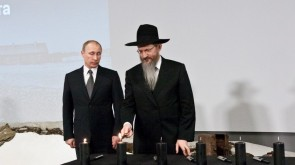 "Putin: ""They were murdered only because they were Jews"""