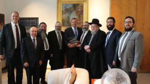 Photos: Rabbis meet with Australian Prime Minister