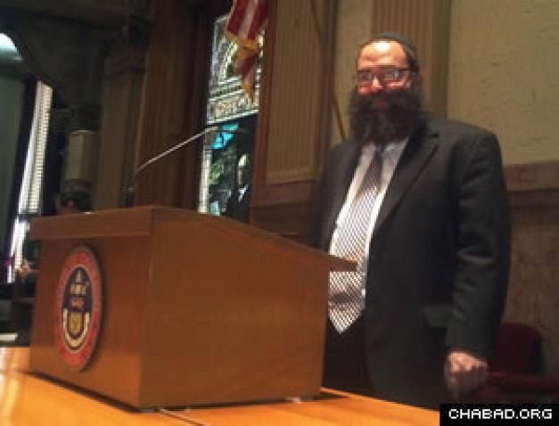 Colorado Senate Ends Session With Rabbinical Blessing