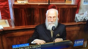 VIDEO OF THE DAY: Rabbi Shea Hecht Guest Chaplain in Congress