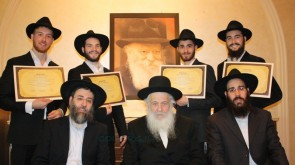 New Rabbis celebrate with their Smicha in Singapore