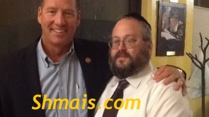 Congressman recognizes hard work by Shluchim