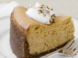 Pareve Pumpkin Cheesecake